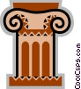 Column or Pedestal Vector Clipart picture