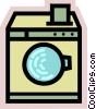 Washing Machines Vector Clipart image