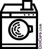 Washing Machines Vector Clipart graphic