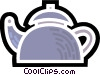 Kettles Vector Clipart illustration