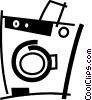 Washing Machines Vector Clipart illustration