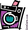 Vector Clipart image  of a Washing Machines