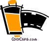 Vector Clipart graphic  of a Film