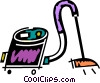 Vector Clip Art picture  of a Vacuum Cleaners