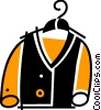 Vector Clipart image  of a Coats and Jackets