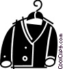 Vector Clip Art image  of a Coats and Jackets