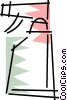 Vector Clip Art graphic  of a Plastic Spray Bottles