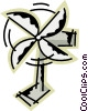 Electric Fan Vector Clipart graphic