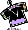 Vector Clipart picture  of a Shirts