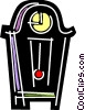 Vector Clipart image  of a Grandfather Clocks