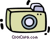 Vector Clipart illustration  of a Cameras