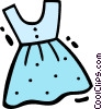 Vector Clipart illustration  of a Dresses