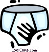 Underwear Vector Clipart picture