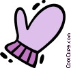 Mittens Vector Clipart graphic