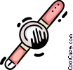 Vector Clipart picture  of a Wristwatches