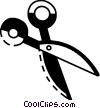 Vector Clip Art picture  of a Scissors