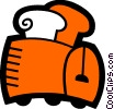 Toasters Vector Clipart illustration