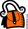 Vector Clipart image  of a Handbags Purses
