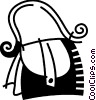 Vector Clipart graphic  of a Handbags Purses