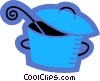 Pots and Pans Vector Clip Art picture