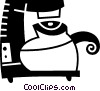 Coffee Pots and Coffee Makers Vector Clip Art graphic
