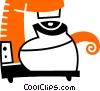 Vector Clip Art image  of a Coffee Pots and Coffee Makers