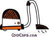 Vector Clip Art image  of a Vacuum Cleaners