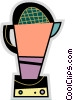 Vector Clip Art graphic  of a Mixers