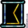 Vector Clipart picture  of a Hourglasses