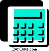 Vector Clipart illustration  of a Calculators