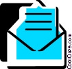 Vector Clipart illustration  of a Envelopes