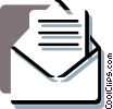Envelopes Vector Clipart picture