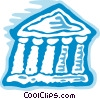 Vector Clipart image  of a Banks