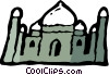 Vector Clip Art picture  of a International Buildings