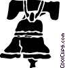 Liberty Bell Vector Clip Art graphic