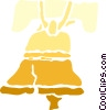 Vector Clipart graphic  of a Liberty Bell