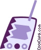 Vector Clip Art graphic  of a Walkie-Talkies