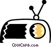 Vector Clipart picture  of a Radios