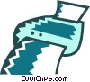 Vector Clip Art image  of a Fax Machines