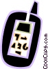 Vector Clipart image  of a Walkie-Talkies