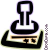Rubber Stamps Vector Clipart illustration
