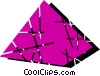 Vector Clip Art picture  of a Pyramids
