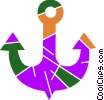Anchors Vector Clip Art picture