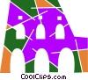 Roman Coliseums Vector Clip Art picture