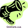 Vector Clipart picture  of a Megaphones