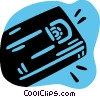 Vector Clipart illustration  of a Videotapes