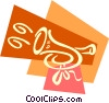 Vector Clip Art graphic  of a Horns