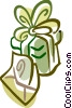 Christmas Presents Gifts Vector Clipart graphic