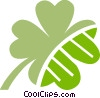 Shamrocks Vector Clipart picture