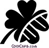 Vector Clipart illustration  of a Shamrocks